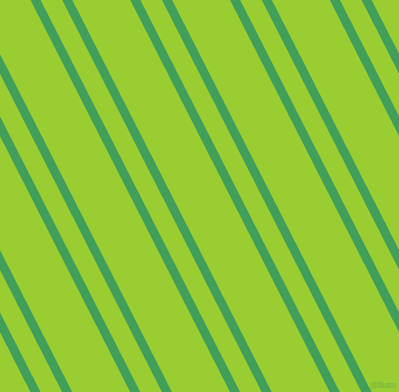 117 degree angle dual stripe line, 13 pixel line width, 28 and 75 pixel line spacing, Chateau Green and Yellow Green dual two line striped seamless tileable