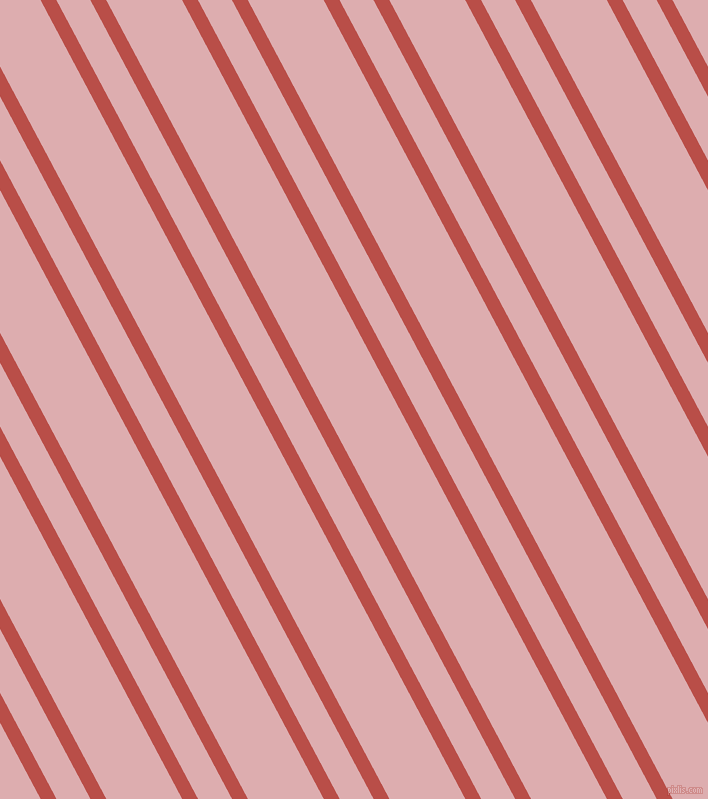 118 degree angles dual stripes lines, 14 pixel lines width, 30 and 67 pixels line spacing, Chestnut and Pale Chestnut dual two line striped seamless tileable