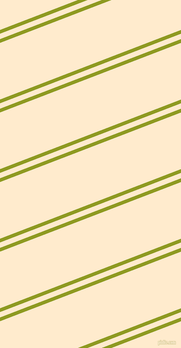 21 degree angles dual stripes line, 7 pixel line width, 10 and 105 pixels line spacing, Citron and Blanched Almond dual two line striped seamless tileable