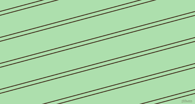 15 degree angles dual stripe line, 3 pixel line width, 10 and 71 pixels line spacing, Clinker and Moss Green dual two line striped seamless tileable