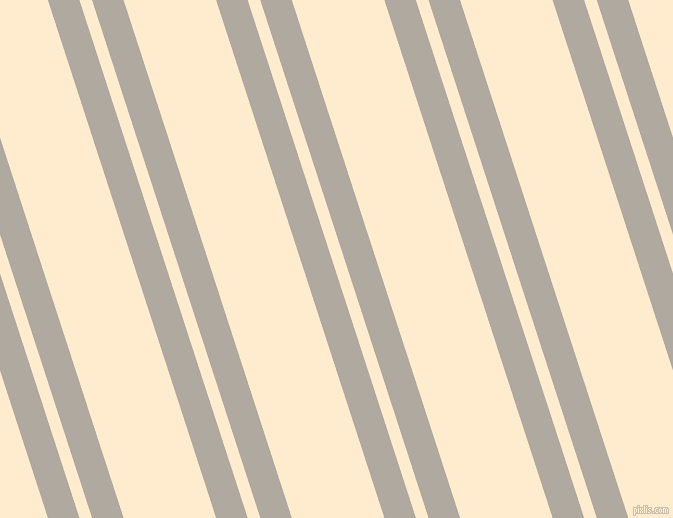 108 degree angles dual stripes line, 30 pixel line width, 12 and 88 pixels line spacing, Cloudy and Blanched Almond dual two line striped seamless tileable