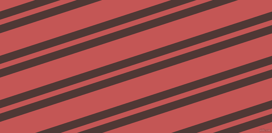 18 degree angle dual stripes line, 25 pixel line width, 16 and 68 pixel line spacing, Cocoa Bean and Fuzzy Wuzzy Brown dual two line striped seamless tileable