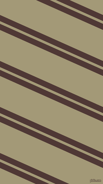 156 degree angles dual stripes line, 18 pixel line width, 8 and 91 pixels line spacing, Cocoa Bean and Tallow dual two line striped seamless tileable