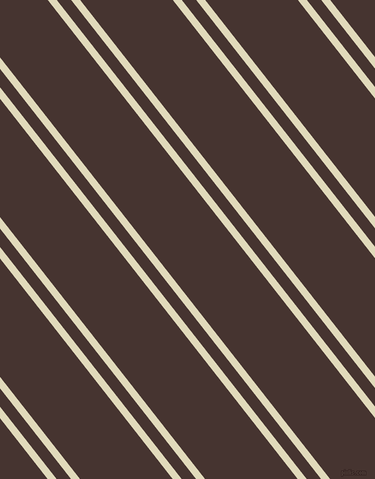 128 degree angle dual stripe lines, 10 pixel lines width, 16 and 103 pixel line spacing, Coconut Cream and Cedar dual two line striped seamless tileable