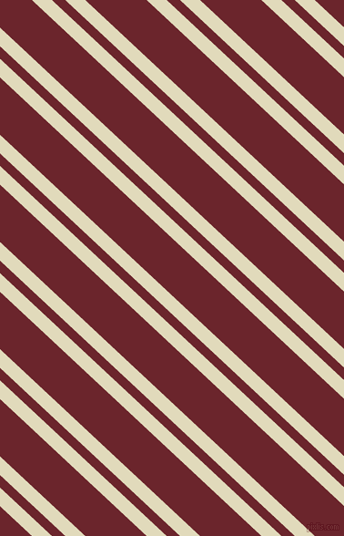 137 degree angle dual stripe lines, 15 pixel lines width, 10 and 46 pixel line spacing, Coconut Cream and Monarch dual two line striped seamless tileable