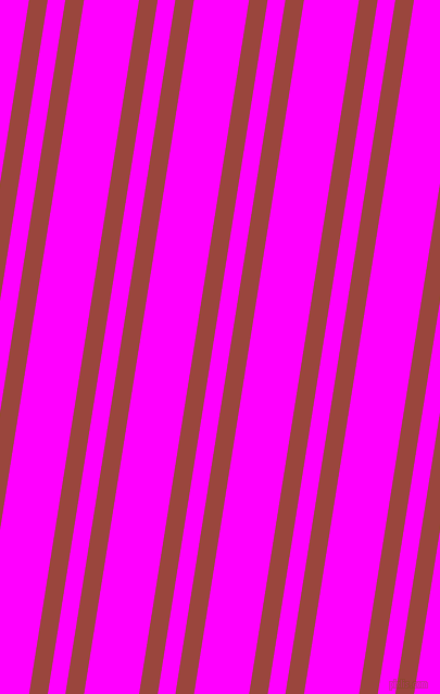 81 degree angle dual stripe lines, 17 pixel lines width, 16 and 50 pixel line spacing, Cognac and Magenta dual two line striped seamless tileable
