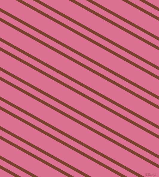 151 degree angle dual striped lines, 10 pixel lines width, 18 and 48 pixel line spacing, Copper Canyon and Pale Violet Red dual two line striped seamless tileable