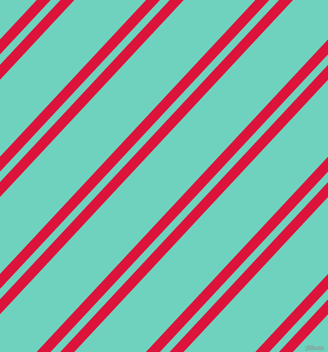 47 degree angle dual stripes line, 20 pixel line width, 14 and 103 pixel line spacing, Crimson and Downy dual two line striped seamless tileable