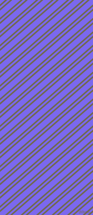41 degree angles dual stripe lines, 5 pixel lines width, 6 and 18 pixels line spacing, Crocodile and Medium Slate Blue dual two line striped seamless tileable