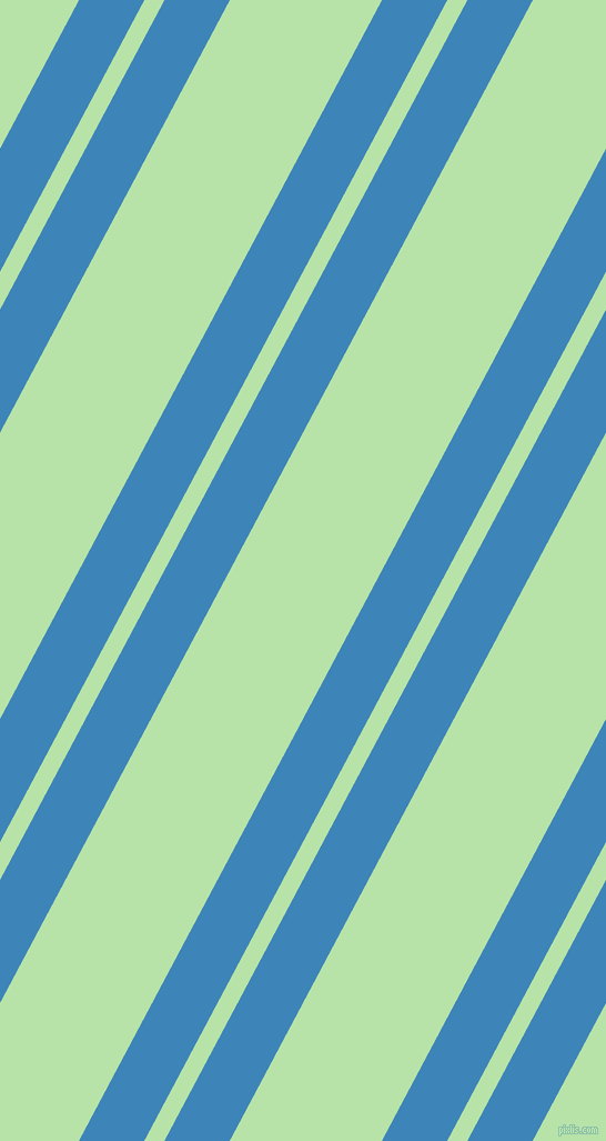 62 degree angle dual stripe lines, 52 pixel lines width, 16 and 121 pixel line spacing, Curious Blue and Madang dual two line striped seamless tileable
