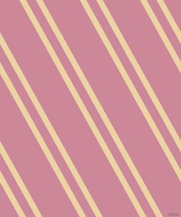 119 degree angle dual stripes line, 20 pixel line width, 30 and 113 pixel line spacing, Dairy Cream and Puce dual two line striped seamless tileable