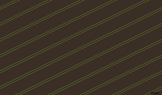 26 degree angle dual stripe lines, 2 pixel lines width, 6 and 49 pixel line spacing, Dark Olive Green and Sambuca dual two line striped seamless tileable