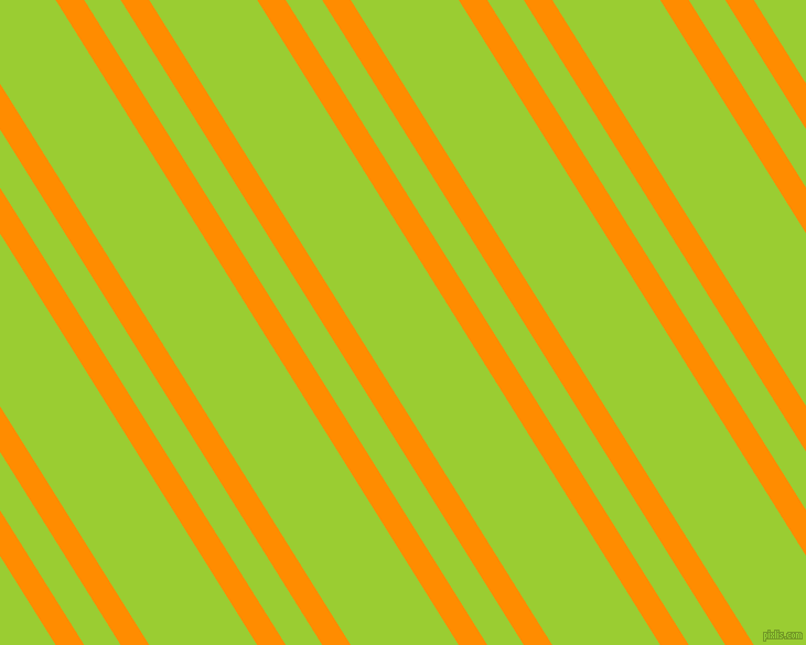 122 degree angles dual stripes lines, 22 pixel lines width, 28 and 83 pixels line spacing, Dark Orange and Yellow Green dual two line striped seamless tileable
