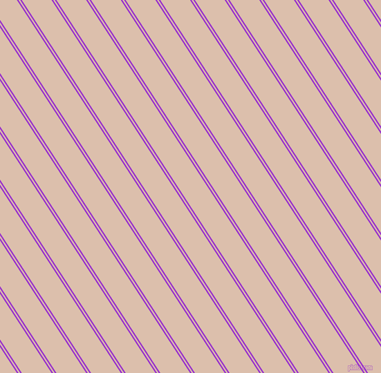 123 degree angle dual stripes line, 2 pixel line width, 2 and 36 pixel line spacing, Dark Orchid and Just Right dual two line striped seamless tileable