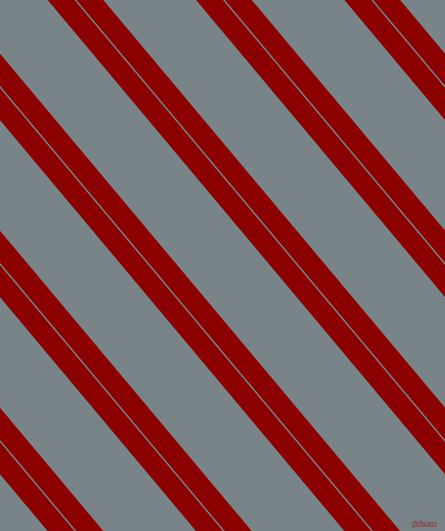 130 degree angle dual striped line, 30 pixel line width, 2 and 103 pixel line spacingDark Red and Regent Grey dual two line striped seamless tileable