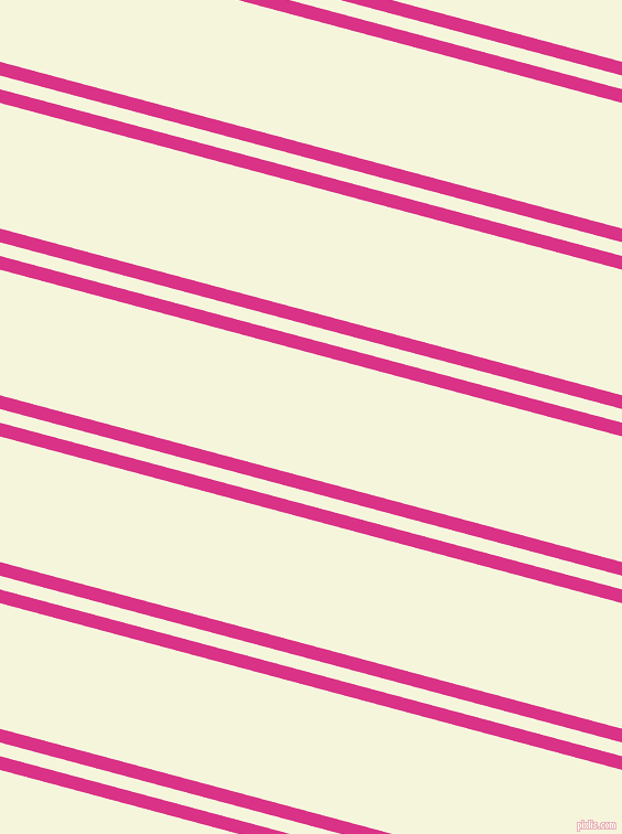 165 degree angle dual striped lines, 12 pixel lines width, 12 and 110 pixel line spacingDeep Cerise and Beige dual two line striped seamless tileable