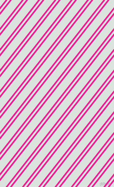 52 degree angles dual striped lines, 5 pixel lines width, 6 and 26 pixels line spacing, Deep Pink and Aqua Squeeze dual two line striped seamless tileable