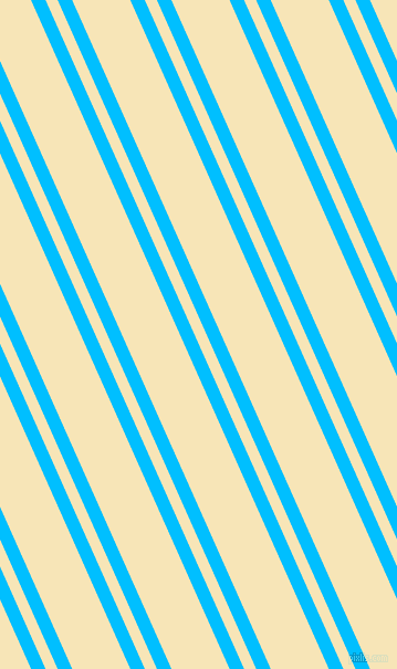 114 degree angles dual striped lines, 12 pixel lines width, 10 and 48 pixels line spacing, Deep Sky Blue and Barley White dual two line striped seamless tileable