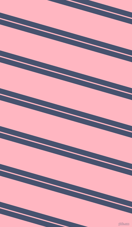 164 degree angle dual striped lines, 17 pixel lines width, 4 and 83 pixel line spacing, East Bay and Light Pink dual two line striped seamless tileable