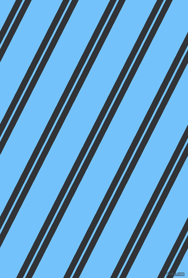 63 degree angle dual stripe lines, 12 pixel lines width, 4 and 56 pixel line spacing, Ebony and Maya Blue dual two line striped seamless tileable