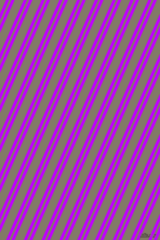66 degree angles dual stripes line, 6 pixel line width, 4 and 17 pixels line spacing, Electric Purple and Arrowtown dual two line striped seamless tileable