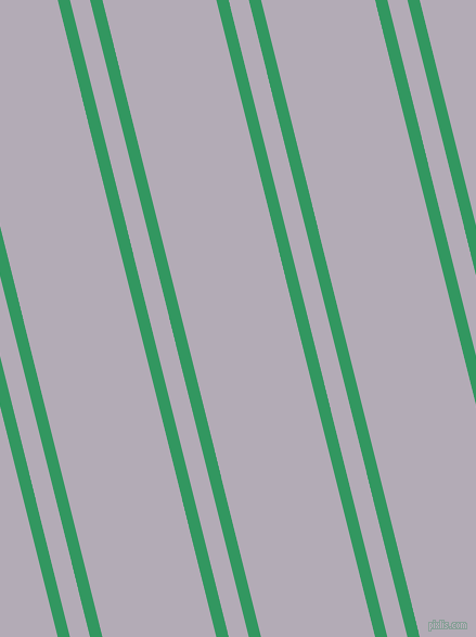 104 degree angle dual stripe line, 11 pixel line width, 18 and 102 pixel line spacing, Eucalyptus and Chatelle dual two line striped seamless tileable