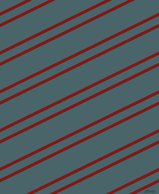 26 degree angle dual striped lines, 10 pixel lines width, 24 and 73 pixel line spacing, Falu Red and Tax Break dual two line striped seamless tileable