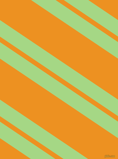 146 degree angle dual striped lines, 48 pixel lines width, 16 and 119 pixel line spacing, Feijoa and Carrot Orange dual two line striped seamless tileable