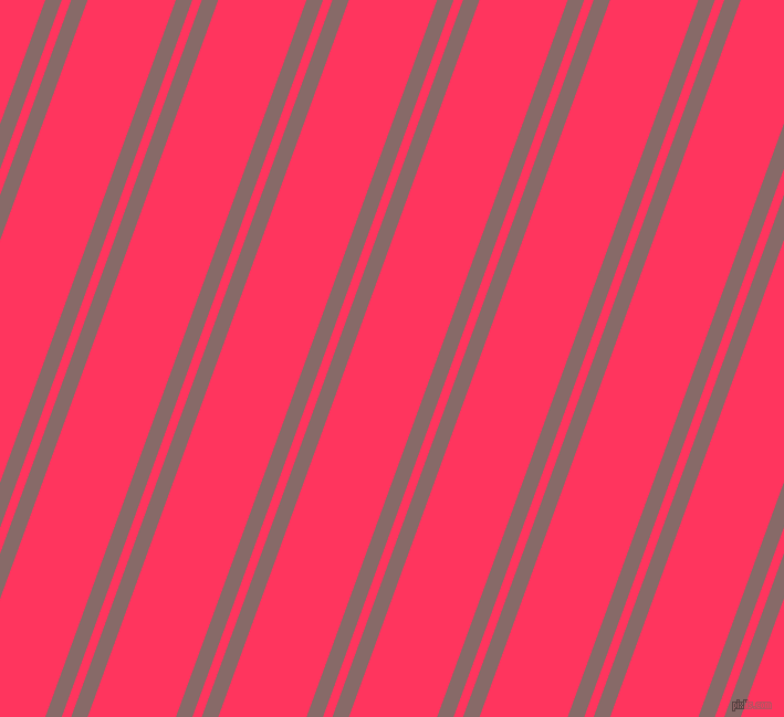 70 degree angles dual striped lines, 14 pixel lines width, 8 and 75 pixels line spacing, Ferra and Radical Red dual two line striped seamless tileable