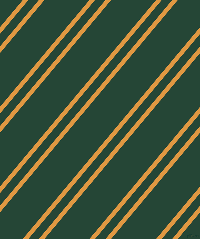 50 degree angle dual stripes line, 14 pixel line width, 26 and 112 pixel line spacing, Fire Bush and Bottle Green dual two line striped seamless tileable