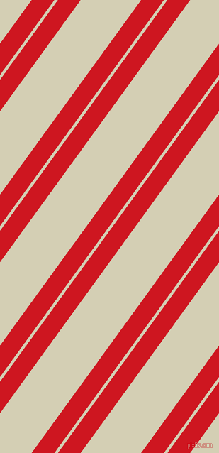 54 degree angles dual stripes lines, 26 pixel lines width, 4 and 69 pixels line spacing, Fire Engine Red and White Rock dual two line striped seamless tileable