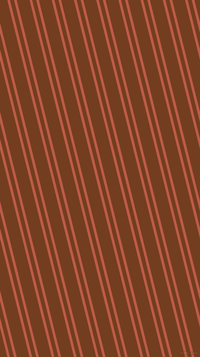 104 degree angle dual striped lines, 5 pixel lines width, 8 and 25 pixel line spacing, Flame Pea and Peru Tan dual two line striped seamless tileable