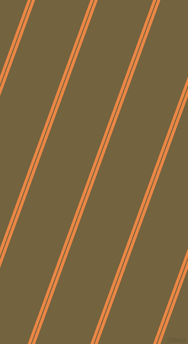 70 degree angles dual stripe line, 6 pixel line width, 2 and 106 pixels line spacing, Flamenco and Yellow Metal dual two line striped seamless tileable