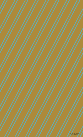 62 degree angle dual striped line, 3 pixel line width, 6 and 23 pixel line spacing, Fountain Blue and Alpine dual two line striped seamless tileable