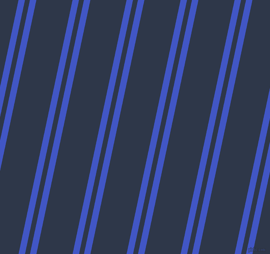 78 degree angle dual stripe lines, 13 pixel lines width, 10 and 73 pixel line spacing, Free Speech Blue and Licorice dual two line striped seamless tileable
