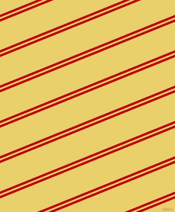 22 degree angle dual stripe line, 8 pixel line width, 6 and 91 pixel line spacing, Free Speech Red and Golden Sand dual two line striped seamless tileable