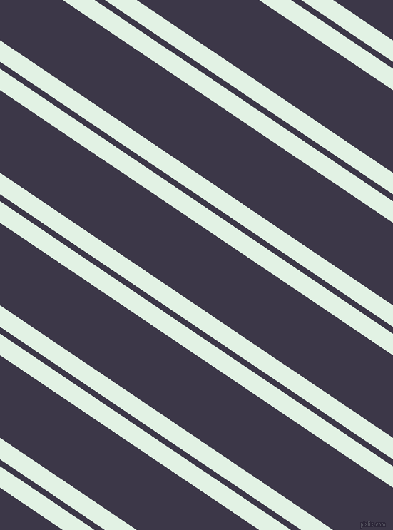 146 degree angle dual stripe lines, 25 pixel lines width, 8 and 96 pixel line spacingFrosted Mint and Martinique dual two line striped seamless tileable