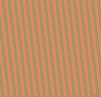 97 degree angle dual striped line, 2 pixel line width, 4 and 16 pixel line spacing, Fruit Salad and Copper dual two line striped seamless tileable