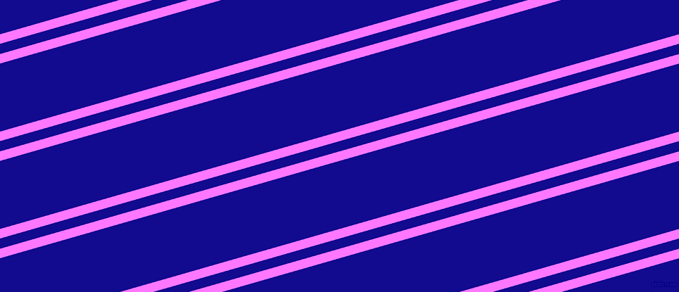 16 degree angles dual stripe line, 13 pixel line width, 14 and 93 pixels line spacing, Fuchsia Pink and Ultramarine dual two line striped seamless tileable