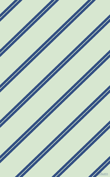 44 degree angle dual striped line, 8 pixel line width, 2 and 67 pixel line spacing, Fun Blue and Peppermint dual two line striped seamless tileable