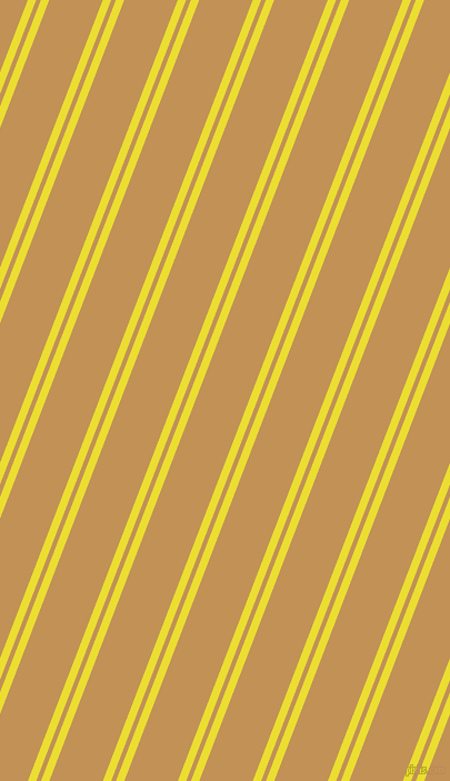 69 degree angles dual stripes lines, 7 pixel lines width, 4 and 45 pixels line spacing, Golden Fizz and Twine dual two line striped seamless tileable