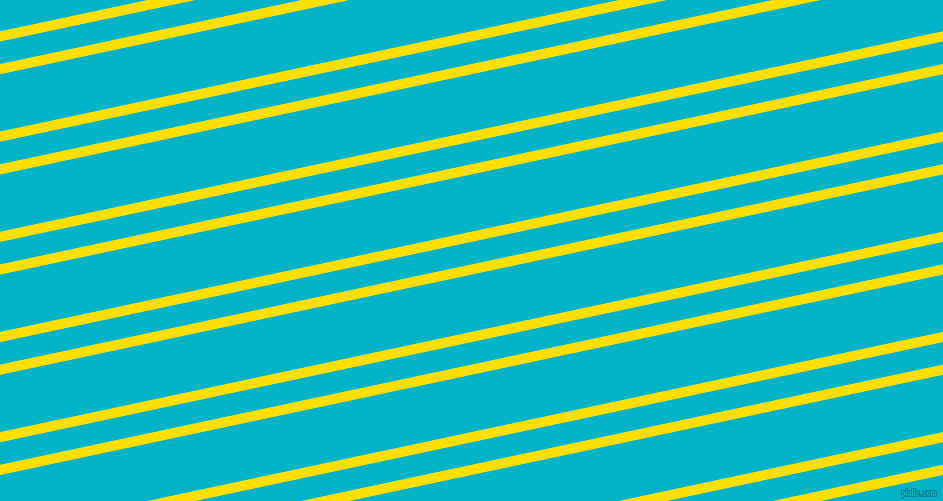 12 degree angles dual stripe line, 10 pixel line width, 22 and 56 pixels line spacing, Golden Yellow and Iris Blue dual two line striped seamless tileable