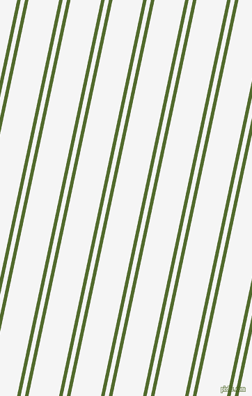 78 degree angle dual stripes lines, 5 pixel lines width, 6 and 43 pixel line spacing, Green Leaf and White Smoke dual two line striped seamless tileable