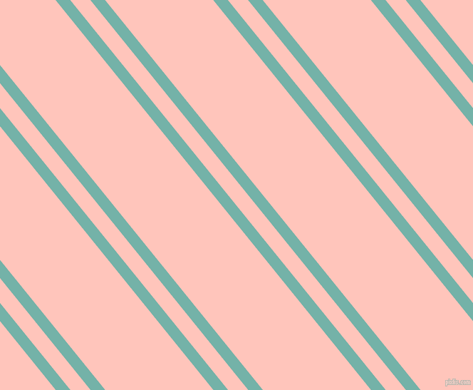 129 degree angle dual striped lines, 16 pixel lines width, 22 and 118 pixel line spacing, Gulf Stream and Your Pink dual two line striped seamless tileable