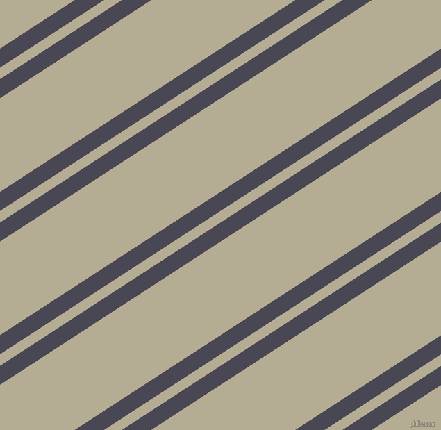 33 degree angles dual stripe line, 23 pixel line width, 14 and 113 pixels line spacing, Gun Powder and Bison Hide dual two line striped seamless tileable