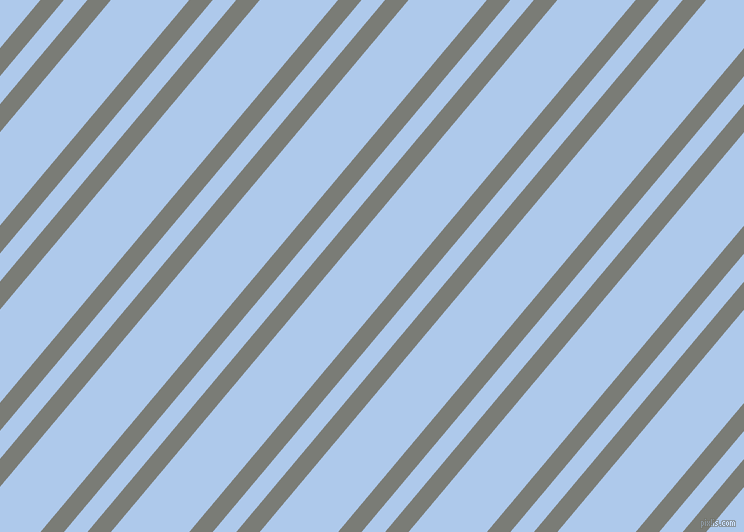 50 degree angle dual stripe line, 18 pixel line width, 18 and 60 pixel line spacing, Gunsmoke and Tropical Blue dual two line striped seamless tileable