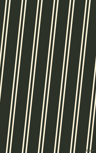 84 degree angles dual striped line, 6 pixel line width, 8 and 44 pixels line spacing, Half Dutch White and Black Forest dual two line striped seamless tileable
