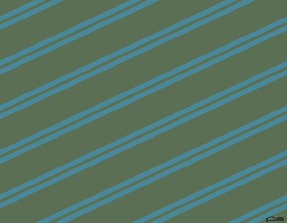 25 degree angles dual stripes line, 10 pixel line width, 6 and 57 pixels line spacing, Hippie Blue and Cactus dual two line striped seamless tileable