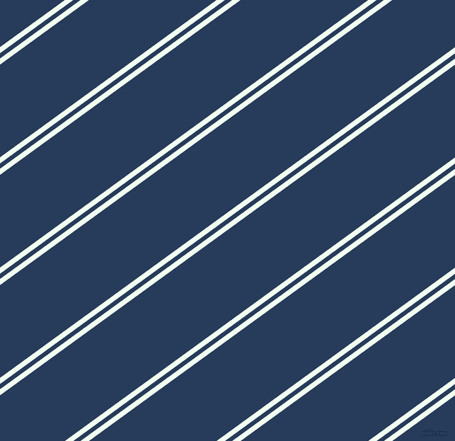 36 degree angles dual striped line, 7 pixel line width, 6 and 106 pixels line spacing, Honeydew and Catalina Blue dual two line striped seamless tileable