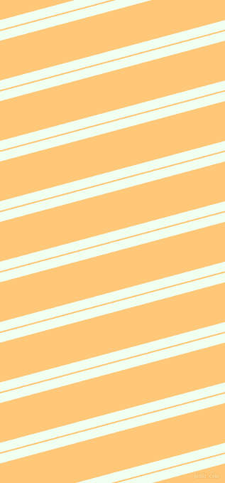 15 degree angles dual striped line, 13 pixel line width, 2 and 54 pixels line spacing, Honeydew and Chardonnay dual two line striped seamless tileable